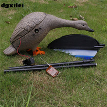 New Upgrade Outdoor Hunting Duck Decoy 4*AA Battery Plastic Duck Hunting With Magnet Spinning Wings