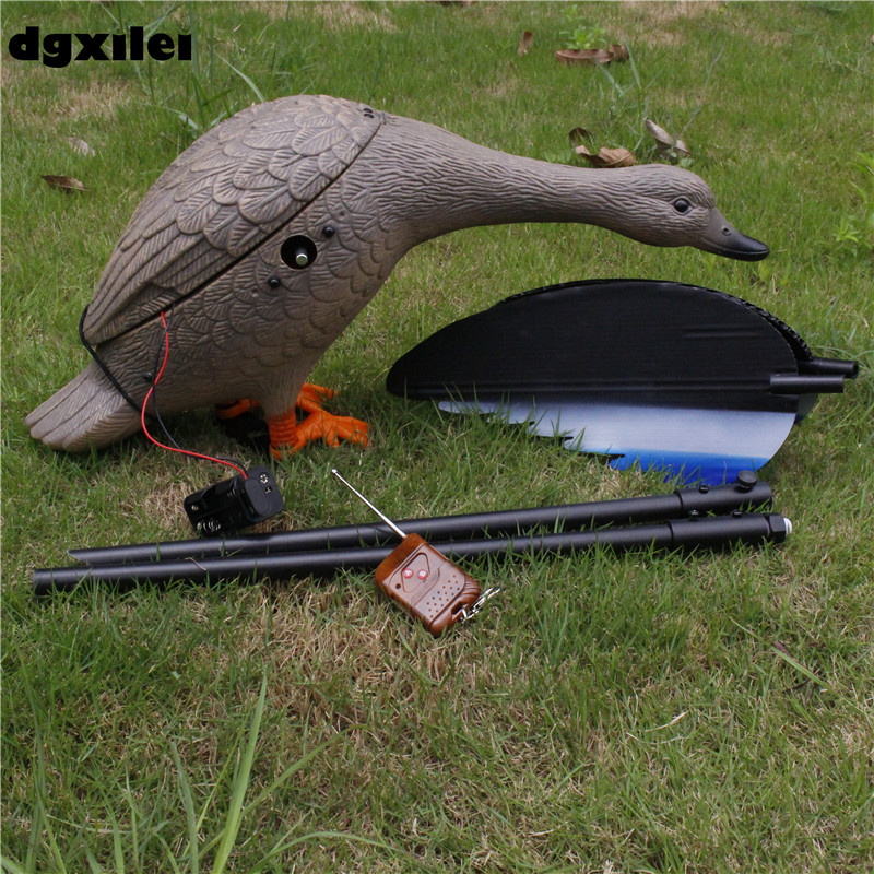 New Upgrade Outdoor Hunting Duck Decoy 4*AA Battery Plastic Duck Hunting With Magnet Spinning WingsNew Upgrade Outdoor Hunting Duck Decoy 4*AA Battery Plastic Duck Hunting With Magnet Spinning Wings