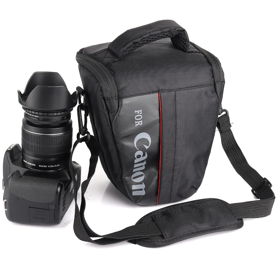 Waterproof Camera Case Bag For Canon 1300D 1100D 1200D 100D 200D DSLR EOS Rebel T3i T4i T5 T5i T3 600D 700D 760D 750D 550D 500D