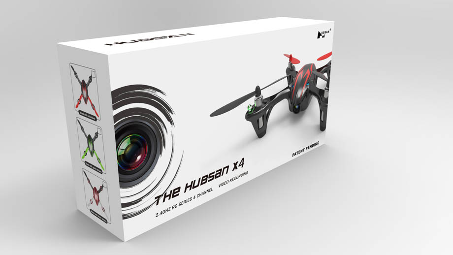 (Preorder) Hubsan X4 H107C 4CH RC Quadcopter With Camera RTF 2.4GHZ