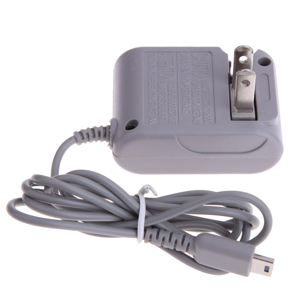 Game Console Charger US Plug AC Power Supply Charging Adapter Standard US 2-pin Plug Adaptor For Nintendo DS Lite NDSL
