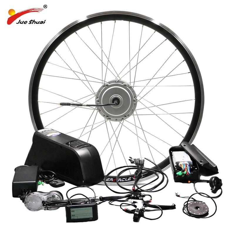 MXUS 500W Bicycle Conversion Kit Ebike kit 36V 17AH 48V 52V