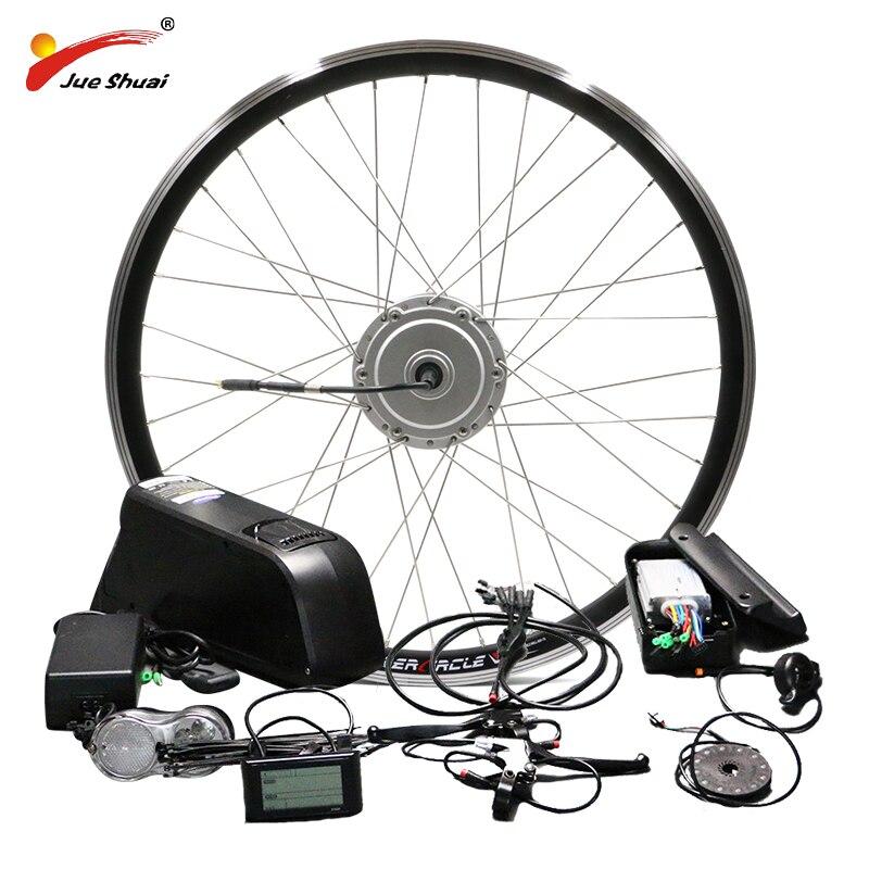 BAFANG Мотор колеса 48 В в 500 Вт Электрический велосипед конверсионный комплект с батареей 8FUN BPM передний концентратор мотор velo electrique bafang Ebike ком...
