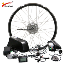BAFANG Motor Wheel 48V 500W Electric Bike Conversion Kit with Battery 8FUN BPM Front Hub Motor velo electrique bafang Ebike Kit bottom discharge ebike battery 51 8v electric bike battery 52v 20ah for 48v bafang 8fun 1000w bbs03 bbs02 motor for sanyo cell