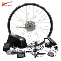 BAFANG Motor Wheel 48V 500W Electric Bike Conversion Kit with Battery 8FUN BPM Front Hub Motor velo electrique bafang Ebike Kit