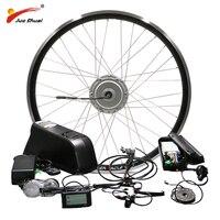 BAFANG Motor Wheel 48V 500W Electric Bike Conversion Kit with Battery 8FUN BPM Front Hub Motor velo electrique bafang Ebike Kit