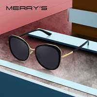 MERRYS DESIGN Women Vintage Retro Cat Eye HD Polarized Sunglasses Ladies Luxury Brand Trending Sunglasses UV400 Protection S6288
