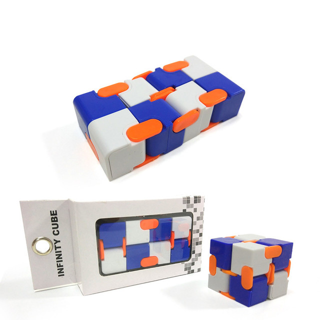 New Arrivals Infinity Cube Fidget Cube Creative Anti anxiety Depression  Autism Toys Magic Fidget Fingers Spinner Kid Adult Gift-in Fidget Cube from