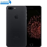 Оригинальный разблокированный Apple iPhone 7/7 Plus 4G LTE мобильный телефон четырехъядерный IOS 12.0MP камера Touch ID Подержанный смартфон