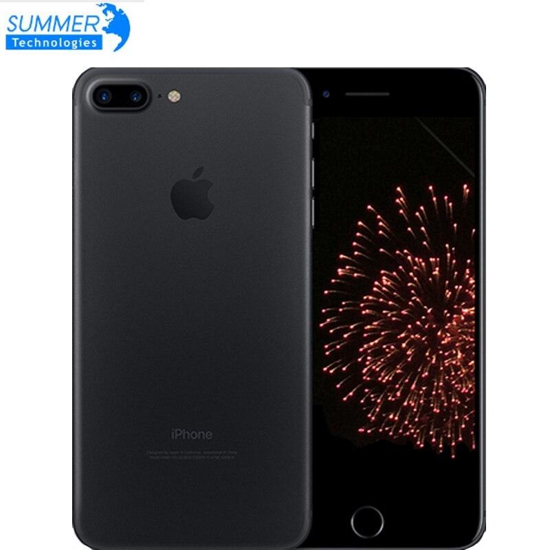 Original desbloqueado apple iphone 7/7 plus 4g lte celular quad core ios 12.0mp câmera touch id usado smartphone