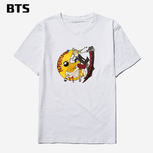 BTS Soul Eater T Shirt Men Punk Anime Funny T-shirt Men Cotton Summer Short Sleeve Tee Shirt Men Cotton Tshirt And Tops