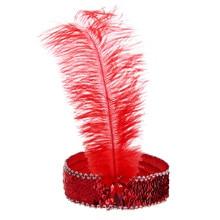 Novas Mulheres Pena Faixa de Cabelo Headband Bonito Menina Moda diadema colorido compra a granel