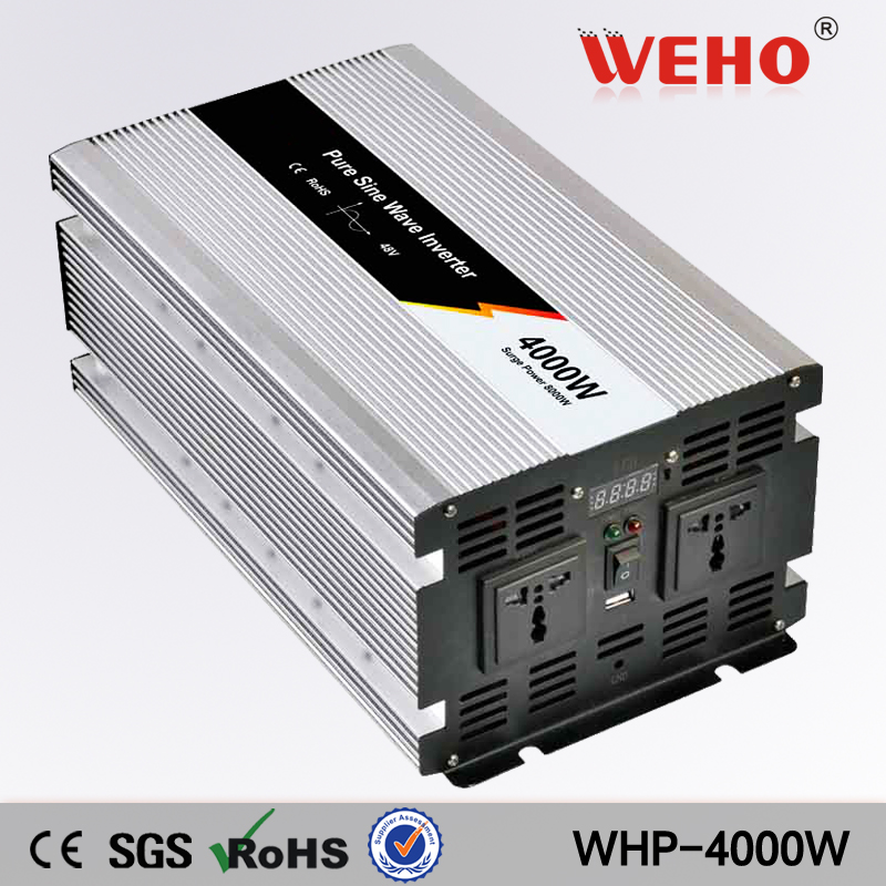 (WHP-4000-122) 4000W Solar Power System Pure Sine Wave Inverter 12Vdc to  220Vac 50Hz 15kw solar power system exported to 58 countries solar power water pump system