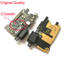Original USB Charging Port Charger Board Flex Cable For Xiaomi Mi 6 Mi6 Dock Plug Connector With Microphone Flex Cable