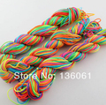 100 Yards 1mm Colorful Nylon Cords For Thread Chinese Knot Shamballa Bracelet Handcraft Braided Cord Jewelry Findings  P1817