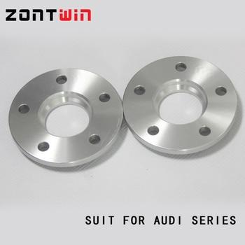 2 Uds 12mm 5x112 66,5 Traje Espaciador De Ruedas Para Coche Audi Q5 (8R)/A6 (C6)/A6 Avant (4G5, C7)/A7/A8/A4 (B8) /Adaptador De Espaciadores De Rueda A5