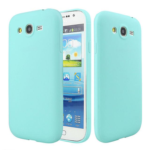 For Samsung Galaxy Grand Duos I9082 Solid Candy Rubber TPU