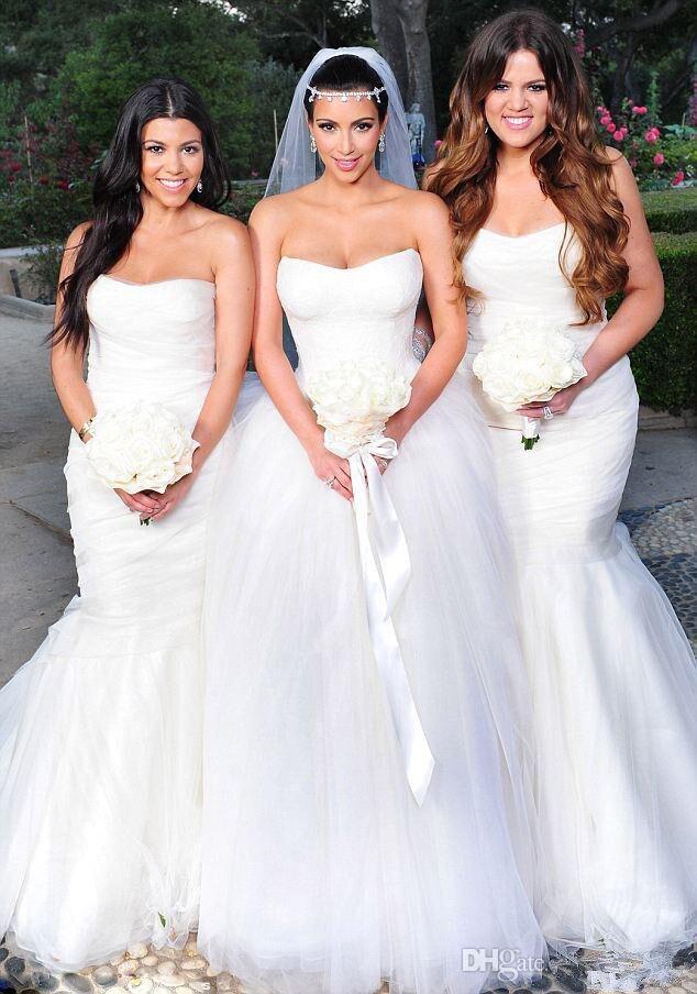 Großzügig Hochzeitskleider Von Prominenten Fotos - Brautkleider ...