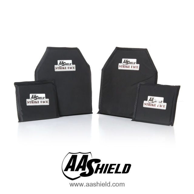 AA Shield Bullet Proof Soft Panel Body Armor Inserts Plate Aramid Core Self Defense Supply NIJ Lvl IIIA 3A 10X12#1(2) 6X6(2) Kit