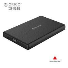 2.5 Дюймов USB Типа к Типу-C Внешний Жесткий Диск Корпус ORICO Высокоскоростной Случае для SSD UASP Поддержка SATA III