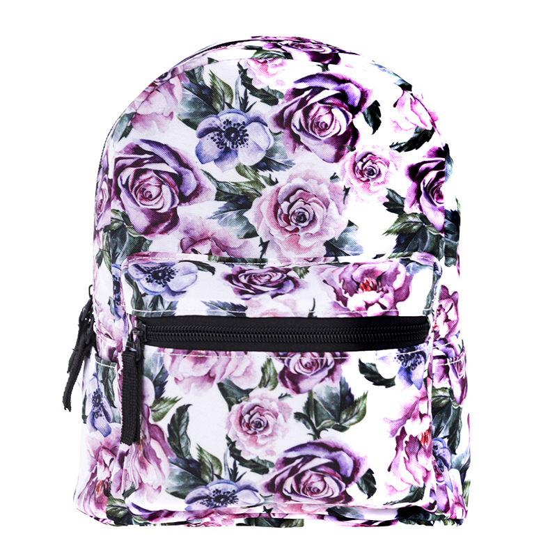 New Arrival Mini Oxford Backpack For Girls 3D Printing Children School Bags
