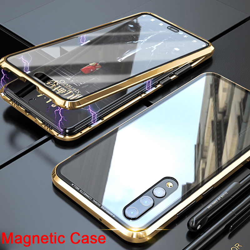 Magnetic-Adsorption-Case Huawei Mate P20-Lite-P for 20-Pro/10-Lite-X-Phone-Case