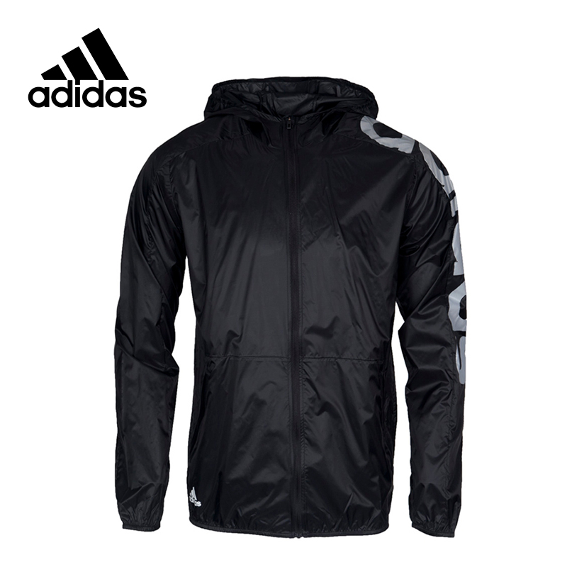 New Original Arrival 2017 Adidas WB LIN LIGHTWGT Men's jacket Hooded Sportswear original new arrival official adidas neo men s windproof jacket hooded sportswear