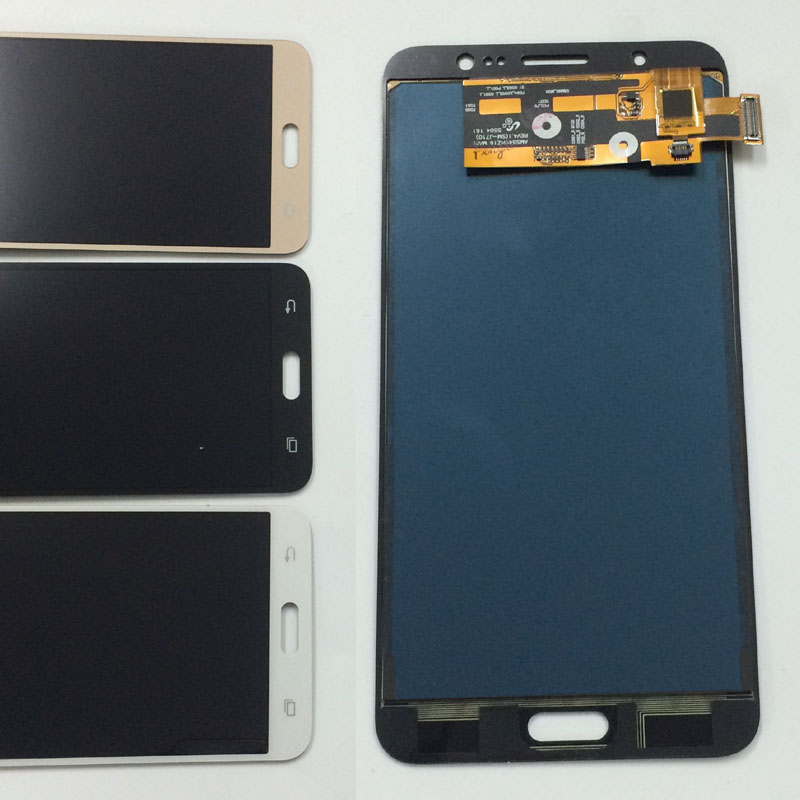 For Samsung J7 2016 SM- J710 J710F J710M J710H J710FN / DS Touch Screen Digitizer Glass + LCD Display Panel Monitor Assembly