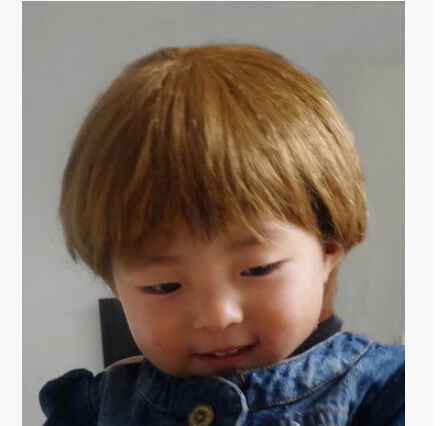 model wig lovely cute little boy short hair wig pictures