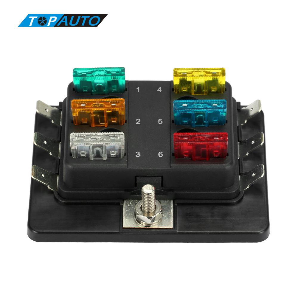 Our product is fuse box, the fuse in picture is NOT included in our item.