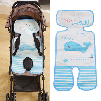 Baby Stroller Seat Cool Liner Cushion Pushchair High Chair Pram Car Cute Mattresses Carriages Seat Pad Cart Mat Accessories image