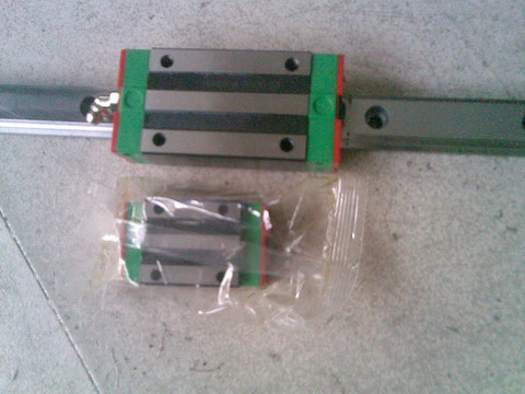 CNC HIWIN EGR20-100MM Rail linear guide from taiwan free shipping to argentina 2 pcs hgr25 3000mm and hgw25c 4pcs hiwin from taiwan linear guide rail