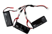 H502S H502E 2PCS or 3pcs 610mAh Lipo 7 4V RC Drone Battery 15C 4 5Wh