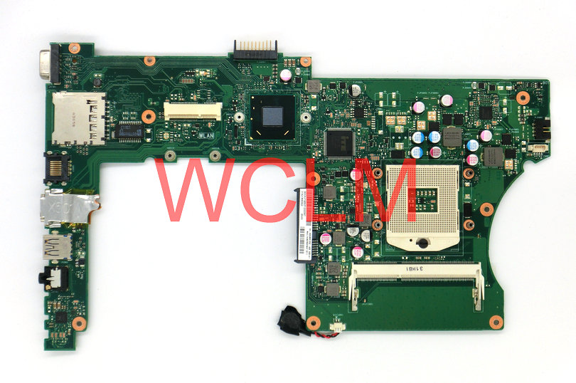free shipping X401A SLJNV HM70 Support B820 B960 CPU mainboard For ASUS X501A X401A X301A Laptop motherboard Tested Working free shipping for 5470 v5470 i5 4200 cpu latop motherboard da0jw8mb6f0 mainboard 100