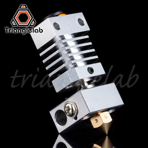 Image 4 - Trianglelab Swiss CR10 hotend Precision aluminum radiator Titanium BREAK 3D print J head Hotend for ender3 cr10 etc.