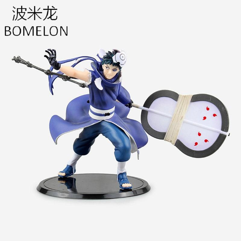 New 16cm Uchiha Obito Aciton Figures NARUTO Toys Japanese font b Anime b font Figure PVC