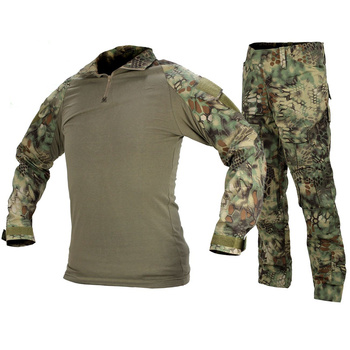 CQC Gen2 Tactical Airsoft Military Army Combat BDU Uniform Shirt & Pants Set Camouflage Outdoor Paintball Hunting Mandrake