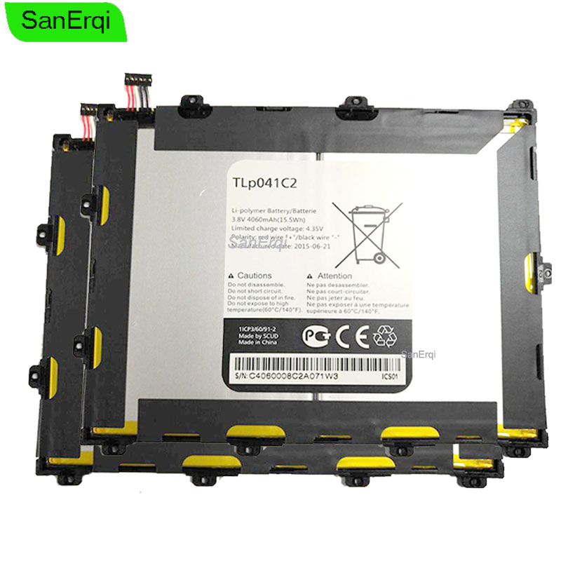 Bateria para Alcatel One Touch Pop 8 TLp041C2 TLp041CC TLp041C2 Alcatel P320A Telus Tablet Li-Polímero bateria 4050 mAh bateria