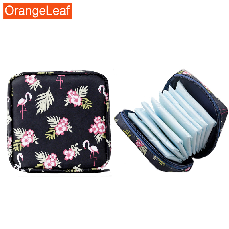 Purse Lipstick-Bag Makeup-Bag Jewelry Cosmetic-Storage Sanitary-Napkin Travel Large-Capacity