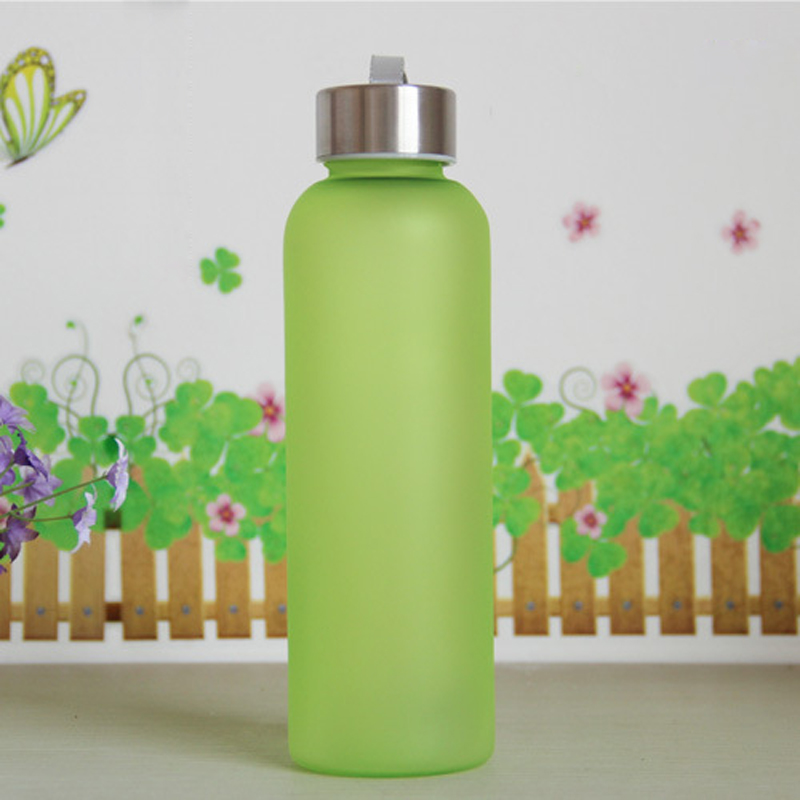 Urijk Creative Steam Water Bottle Plastic Bottle PC Explosion Proof Leak Proof Sealing Water Bottle With A Rope Grinding