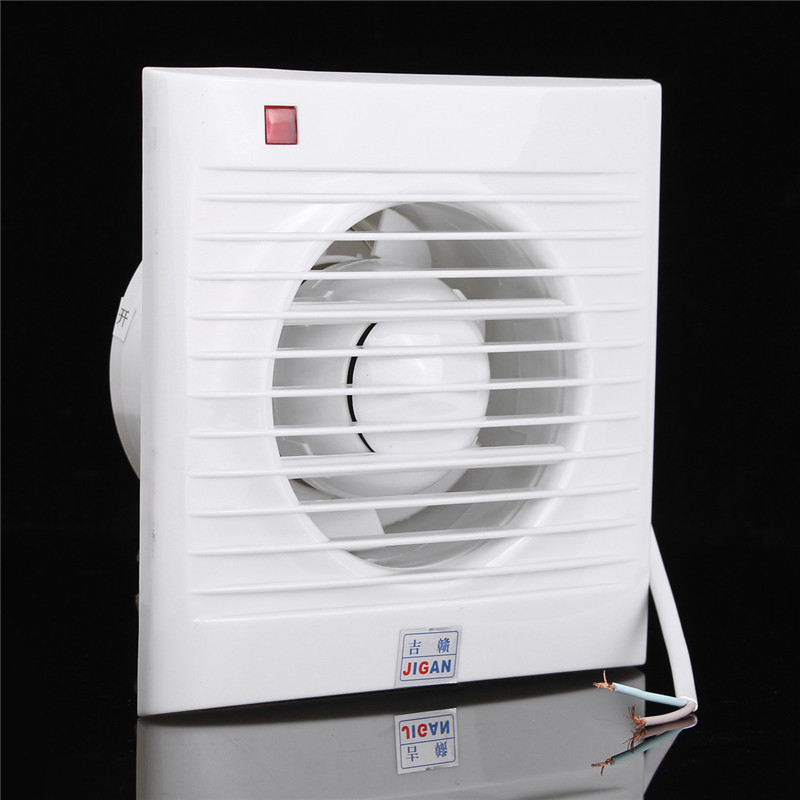 4 inch mini wall window exhaust fan bathroom kitchen toilets ventilation fans windows exhaust for Installation of bathroom exhaust fan