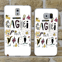 D0301 Caguei Pra Transparent Hard PC Case Cover For Samsung Galaxy S 3 4 5 6 7 Mini Edge Plus Note 3 4 5 7