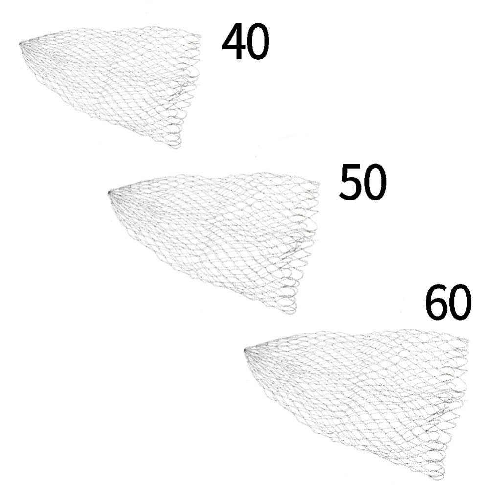 Rede de pesca Rede De Pesca Dobrável Landing Net Malha Net Para Peixes de Isca Isca Titular Ferramenta Cesta 40 cm/50 cm/60 cm Equipamento De Peixe