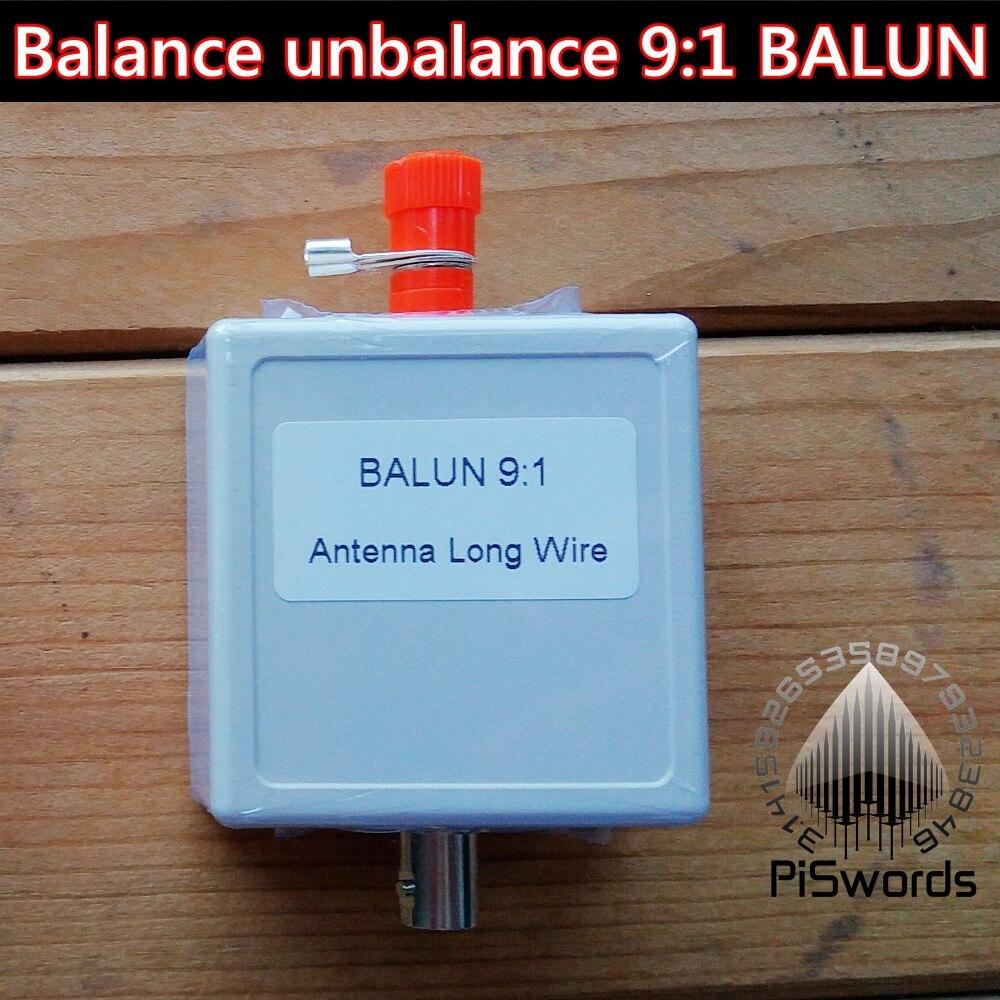 PISWORDS балансирующая небалансирующая длинная антенна BALUN 9:1 для SDR по, определенного радио с интерфейсом BNC|balun antenna|balun 1:1balun 1:9 | АлиЭкспресс