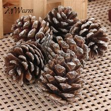 9pcs/lot Newest Christmas Tree Pine Cones Hanging Pinecone X