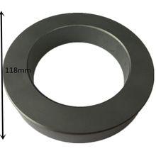 ตัวอย่าง118X80X20mm Ultraขนาดใหญ่Transformer Ferrite Core 4.65 X3.15X0.8toroidเฟอร์ไรต์Chokes Noise Filter Ferrite,1ea/Lot