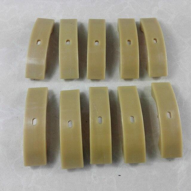 10 x piezas momento tensor de cadena Pad/momento tensor de cadena zapatos para A3 A4 A6 A8 TT asiento OE #058109088 K 058109088B
