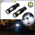 2 unids CRE'E Extremadamente Brillante 50 W Alta Potencia 906 912 921 T10 LLEVÓ Las Luces de Reserva Reverso, Las Luces de estacionamiento, el Color Blanco Del xenón