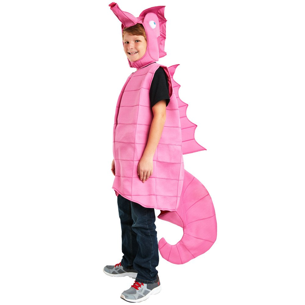 Adorable Toddler Pink Seahorse Costume Quality Foam Unique Fun Choice Perfect For Little Child On Halloween