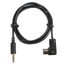2016 New 3.5mm Music AUX Input Cable For Car Pion eer Stereo Headunit IP-BUS Input Adapter